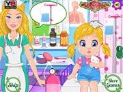 Opiekunka Barbie dla dzieci