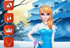 Elsa na przyjęciu