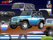 Gra tuningowanie jeepa