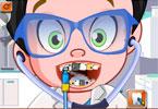 Mały doktor u dentysty