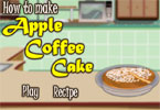 Ciasto jabłkowo kawowe