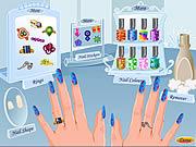 Kosmetyczka w studio paznokcia