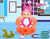 Dziecko w wannie