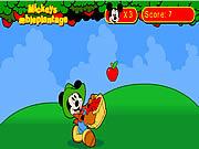 Myszka Miki i jabłka