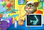 Gadający Tom operacja ręki