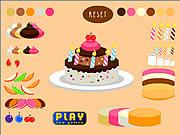 Gra Dekorowanie tortu na specjalną okazję