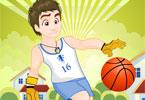 Modny koszykarz