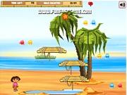 Dora na plaży z Diego