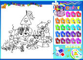 Kolorowanka Diddl dla dzieci