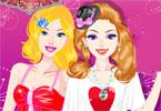 Filmowy wieczór Barbie i Ellie