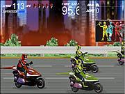 Power Ranger: wyścig na skuterze
