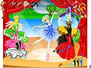 Ubieranka z baletnicą dla dziewczyn