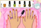 Dziewczęcy manicure