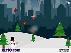 Skaczący Mikołaj