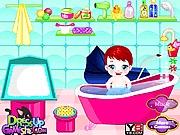 Gra mycie dzieci