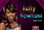 Kelly Rowland makijaż