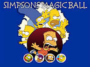 Gra pamięciowa Magiczna kula Simpsonów