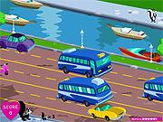 Bieganie pomiędzy samochodami