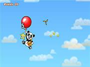 Podróż Pandy balonem