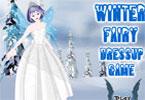 Zimowa wróżka ubieranka