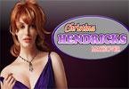Christina Hendricks makijaż