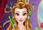Księżniczka Bella u fryzjera
