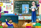 Elsa nauczycielka