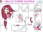 Układanka kolorowe puzzle
