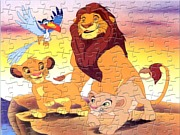 Simba z rodziną