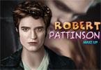 Robert Pattinson makijaż