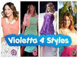 Ubieranka Violetty Disneya