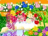 Dekorowanie kwiaciarni w mieście