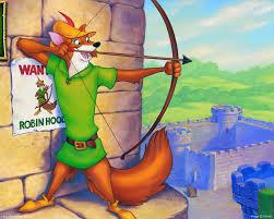 Kolorowanka z Robin Hoodem