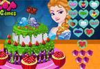 Elsa tort walentynkowy