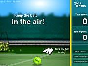 Podbijanie piłki do tenisa