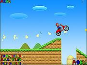 Gra Mario Bross. Przygoda na motorze