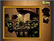Żółwie Ninja: puzzle