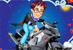 Harry Potter na motocyklu