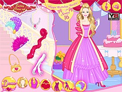 Ubieranie księżniczki
