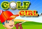 Piękna golfistka
