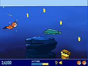 Gra pływanie pod wodą