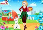 Elsa idzie na capming