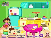 Sprzątanie kuchni przez Dore