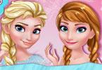 Makijaż sióstr frozen
