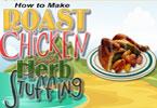 Pieczony kurczak z farszem