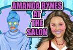 Amanda Bynas w salonie spa