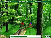 Gra Przejażdżka trasą górską na rowerze