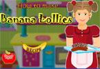 Bananowe lizaki