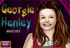 Georgie Henley makijaż