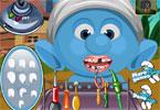 Smerfik u dentysty